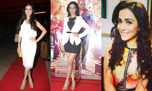 Celebrity style: Humaima plays it cool at Raja Natwarlal promos