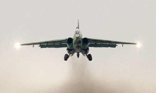 Two Ukrainian fighter jets shot down in east: military