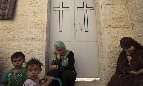Gaza city church opens doors to refugees