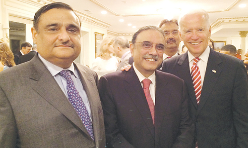 Zardari, Biden discuss issues relating to US, Pakistan