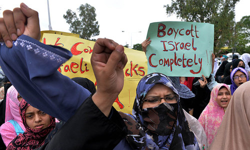 Pakistan demands 'humanitarian pause' in Gaza