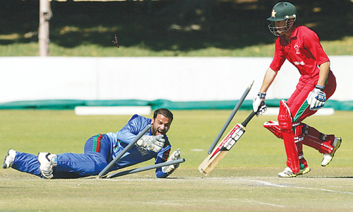 Afghanistan win again to draw series