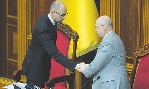 Ukrainian PM resigns after collapse of ruling coalition