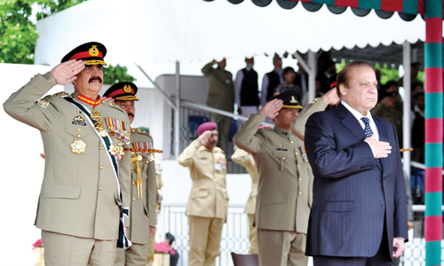 Parliament Watch: As threats loom, Sharif charms his way back into GHQ