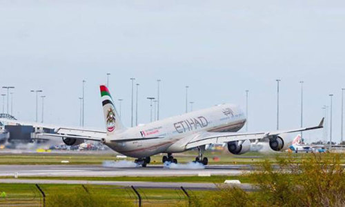 Etihad Airways flights to remain suspended