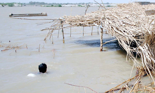 Flood inundates several villages in Chitral