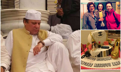 Politicians on Twitter: Umrah, meetings and a birthday cake