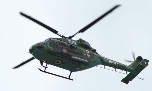 Indian air force helicopter crash kills 7 on board