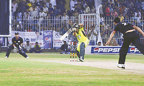 Faisalabad T20 fund-raiser  generates Rs25m
