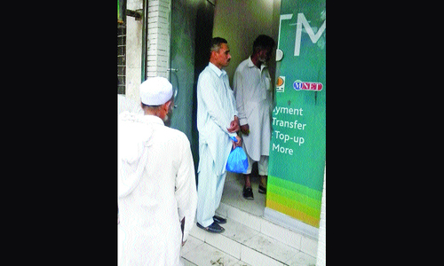 Most Peshawar ATMs out of order