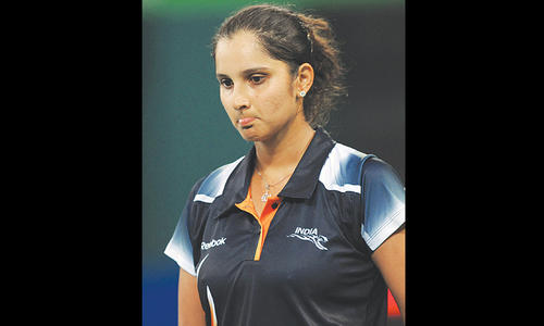 Sania Mirza cries over Pakistan taunt