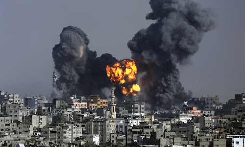 Israel and Hamas declare 12-hour Gaza truce
