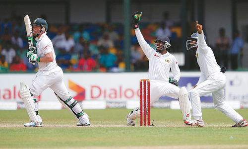 Perera's career best figures give Sri Lanka big lead
