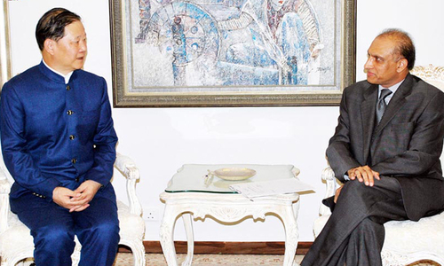 Foreign secretary, Chinese envoy discuss Afghan issue