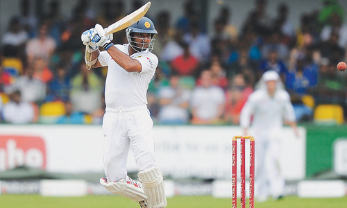 Sangakkara, Mathews help SL set up thrilling last day
