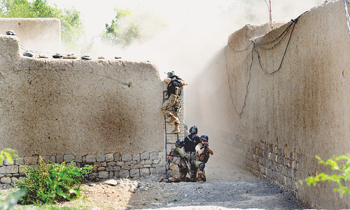 Many TTP strongholds cleared