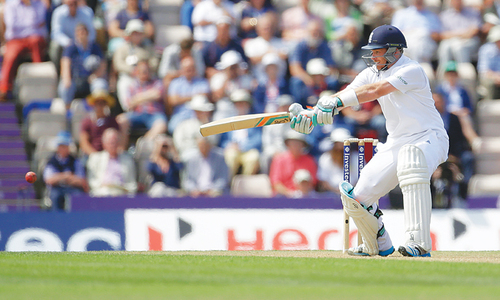 Bell ends century drought as India toil in Southampton