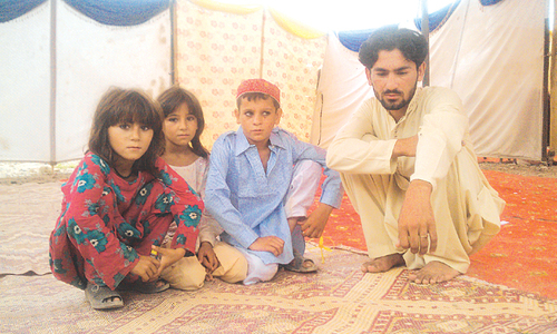 Footprints: Orphaned and Displaced