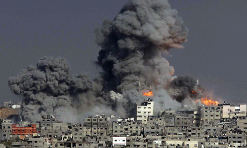 Israeli strikes kill 12 across Gaza: medics