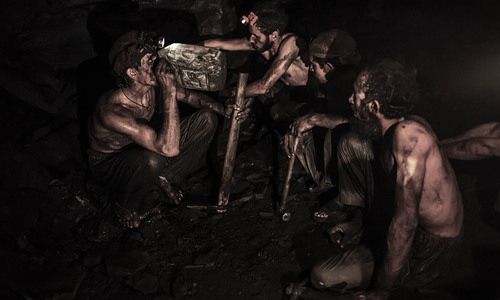Life of a coal miner in Punjab