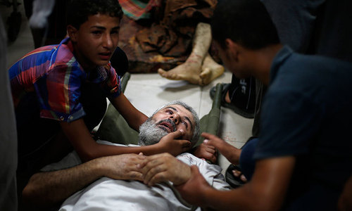 15 dead, 150 wounded in Israeli strike on Gaza market