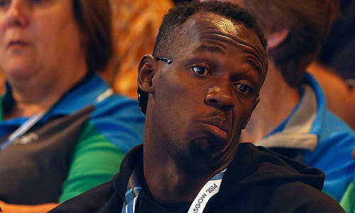 Bolt denies foul-mouthed criticism of Commonwealth Games