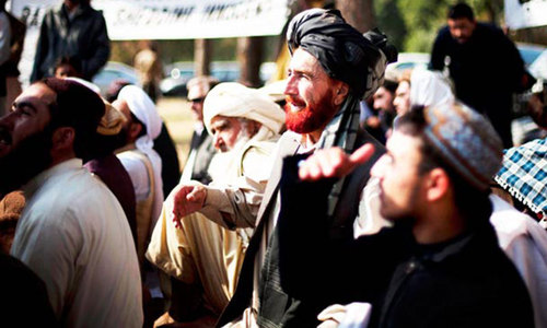 Protests staged over arrest of cleric in Parachinar