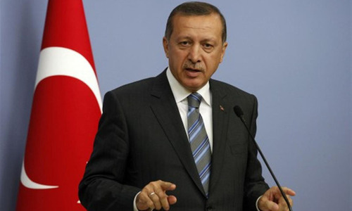 Turkish PM slams Israel for 'Hitler-like fascism'