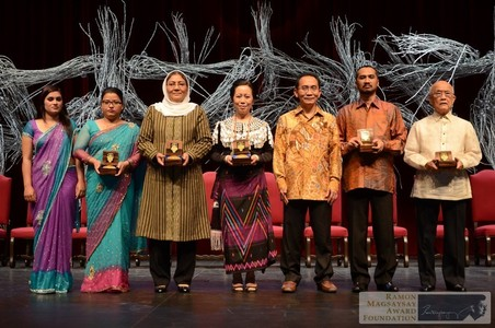 Chinese journalist, lawyer win Magsaysay awards