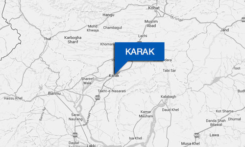Three of a family killed in Karak clash