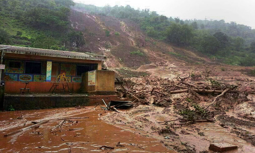 Landslide buries Indian village; at least 51 dead