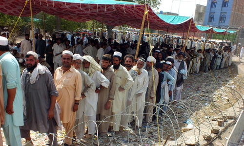 Bara IDPs establish makeshift bazaar, seek financial support