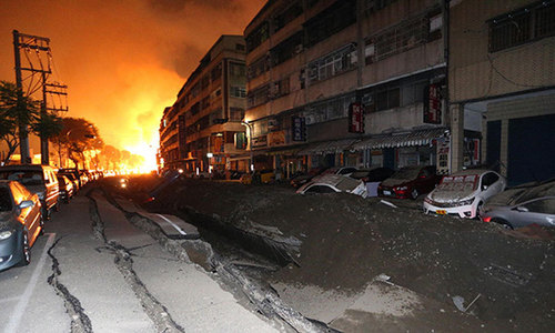 Gas blasts kill 24, injure 271 in Taiwan