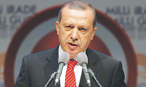 Turks divided over Erdogan's Islamic direction‏