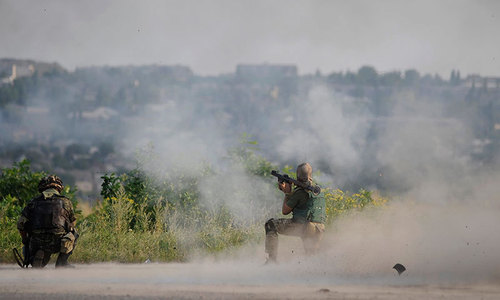 14 killed, including 10 soldiers, in east Ukraine clash: military