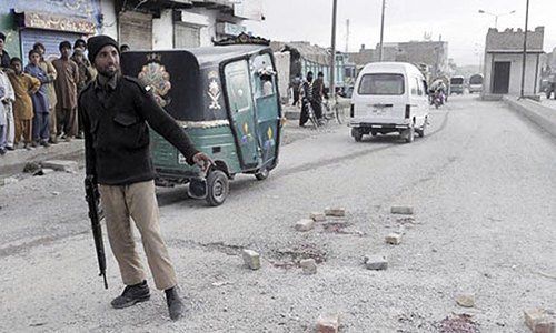 Child among two gunned down in Quetta