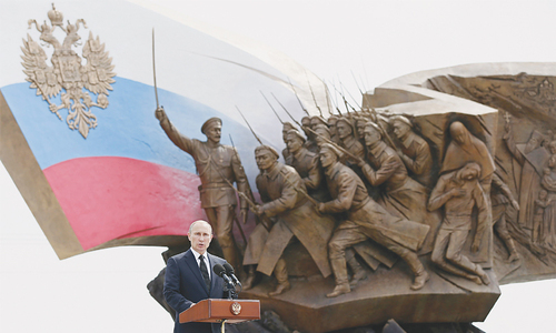 World should draw lessons from WWI, says Putin