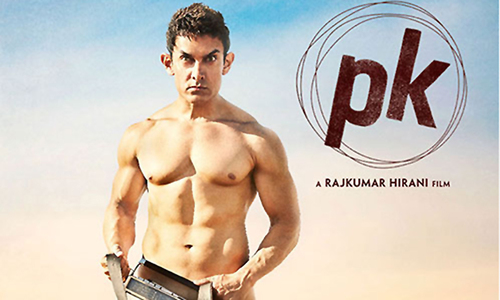 Aamir Khan's PK poster reveals all...except the plot