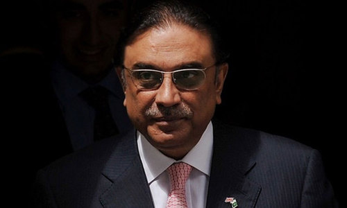 Zardari stops PPP members from attending PAT event