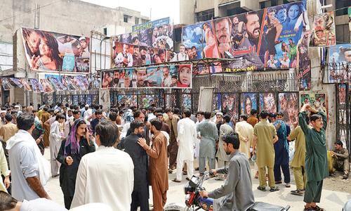 New Pashto films woo people back to cinemas