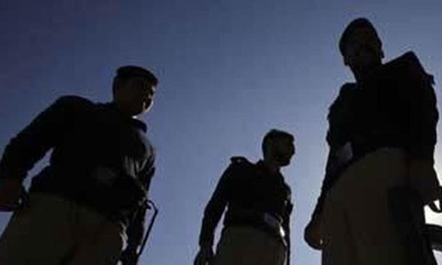 Gunman of DIG Hyderabad prison killed in Latifabad