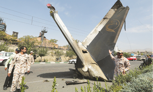 39 killed in Iran plane crash