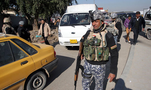 Suicide bomber attacks checkpoint near new Iraq PM's house