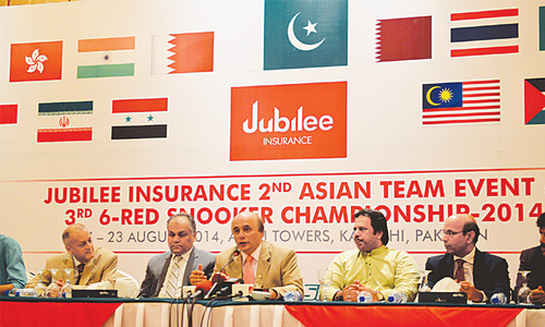 Asian Team Event, 6-Reds Snooker begins on Sunday