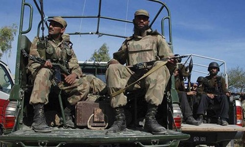 Security forces kill four suspected militants in Khyber
