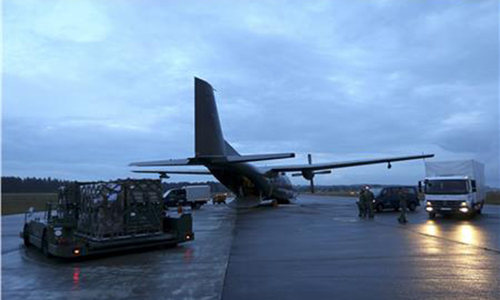 Germany sends first plane carrying aid to northern Iraq