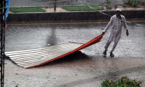 PM Nawaz announces compensation as Peshawar rains leave 16 dead