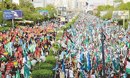 Ummah will never accept Israeli occupation of Al Quds: JI emir