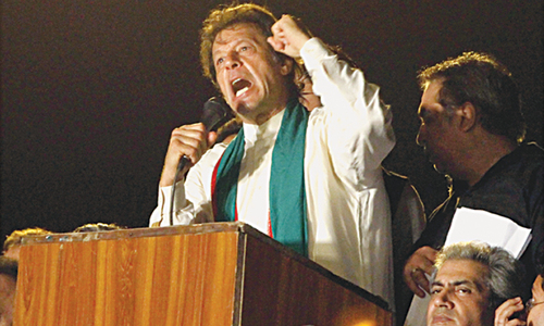 Imran's surprising call for civil disobedience