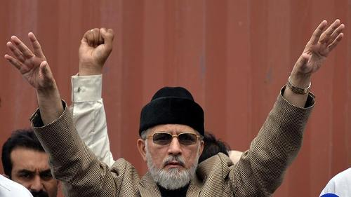 Firebrand Qadri tells supporters to move into Red Zone